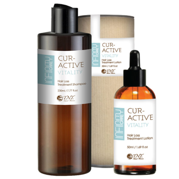 Infinity Care CurActive Vitality Hair Loss Therapy Bundle