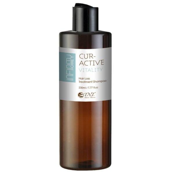 Infinity Care CurActive Vitality Hair Loss Treatment Shampoo 230ml 1