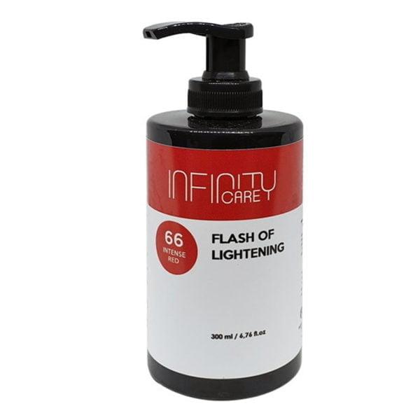 Infinity Care Flash Of Lightening 66 Intense Red300ml
