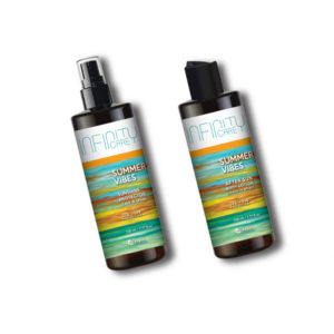 Infinity Care Summer Vibes Bundle Sunshine Protector Leave in Spray 230ml After Sun Body Lotion 230ml